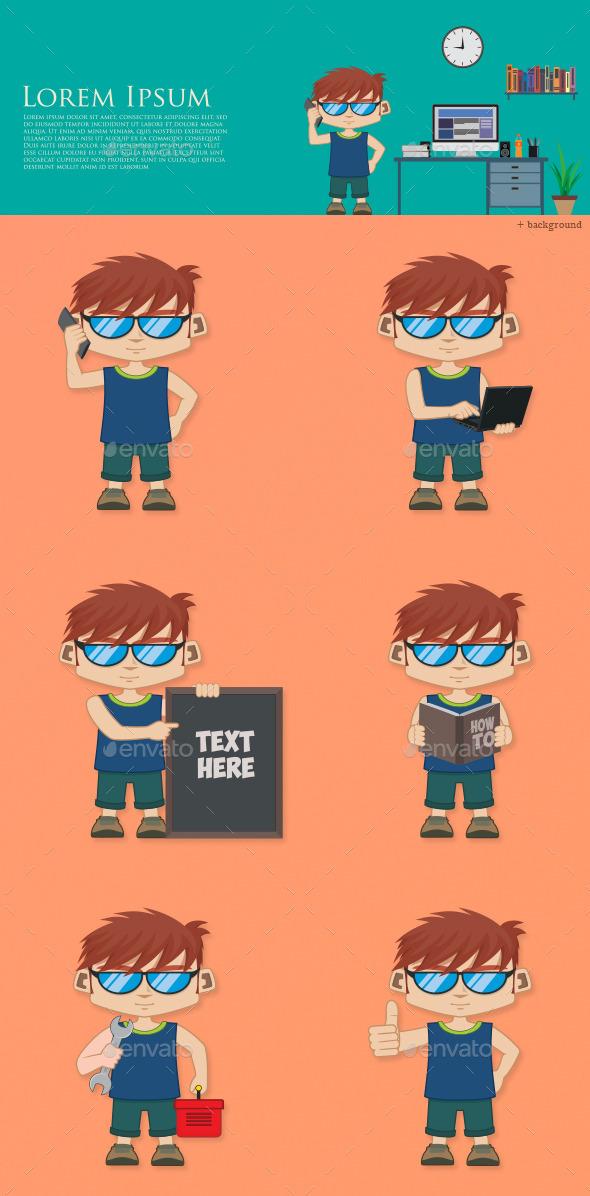GraphicRiver Mascot 9601934