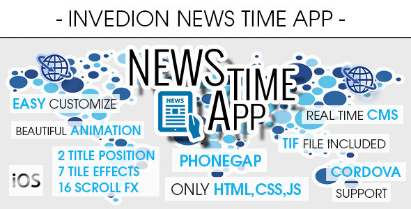 News Time App With CMS - iOS