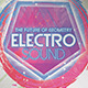 Future Geometry Electro Sound Flyer - GraphicRiver Item for Sale