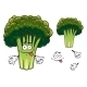 Cartoon Broccoli Character - GraphicRiver Item for Sale