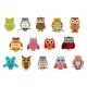 Cartoon Owl Birds - GraphicRiver Item for Sale