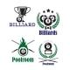 Billiards or Poolroom Emblems - GraphicRiver Item for Sale