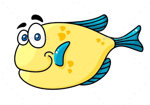 GraphicRiver Cartoon Fish 9602199