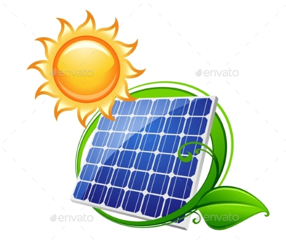 GraphicRiver Solar Panel or Battery 9602205