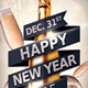 New Years Eve Party Flyer Template V3 - GraphicRiver Item for Sale