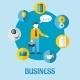 Business Flat Concept Design - GraphicRiver Item for Sale