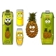 Pineapple Fruit and Juices - GraphicRiver Item for Sale