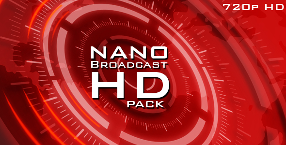 After Effects Project - VideoHive nano broadcast HD pack 122440