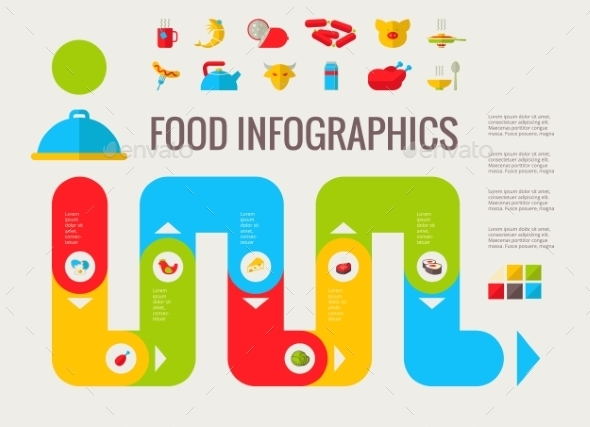 GraphicRiver Food Infographic Elements 9602513
