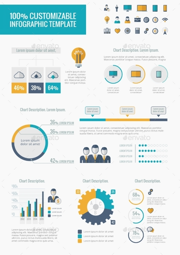 GraphicRiver Technology Infographic Elements 9602517