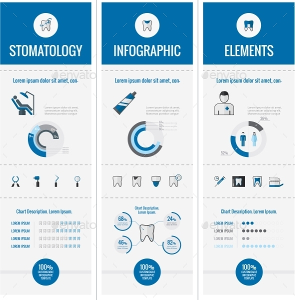 GraphicRiver Dental Infographic Elements 9602523