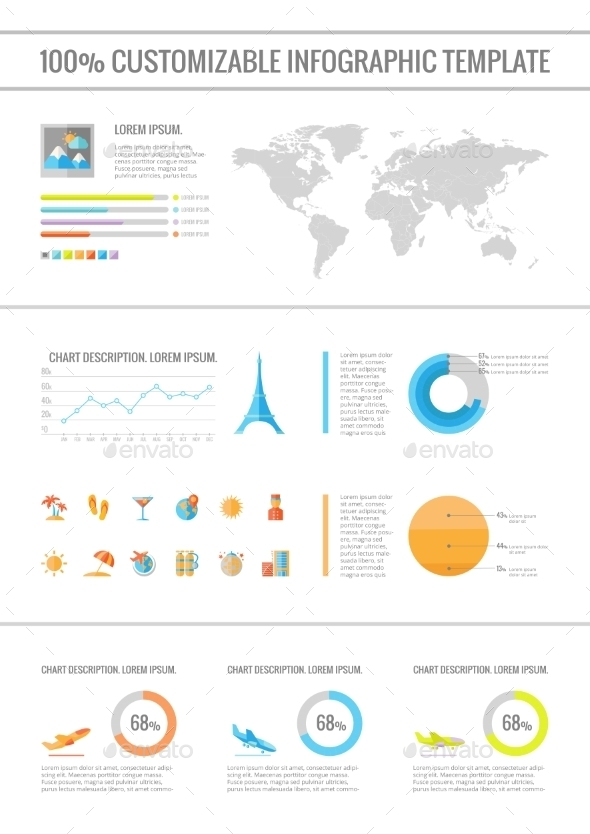 GraphicRiver Travel Infographic Elements 9602531