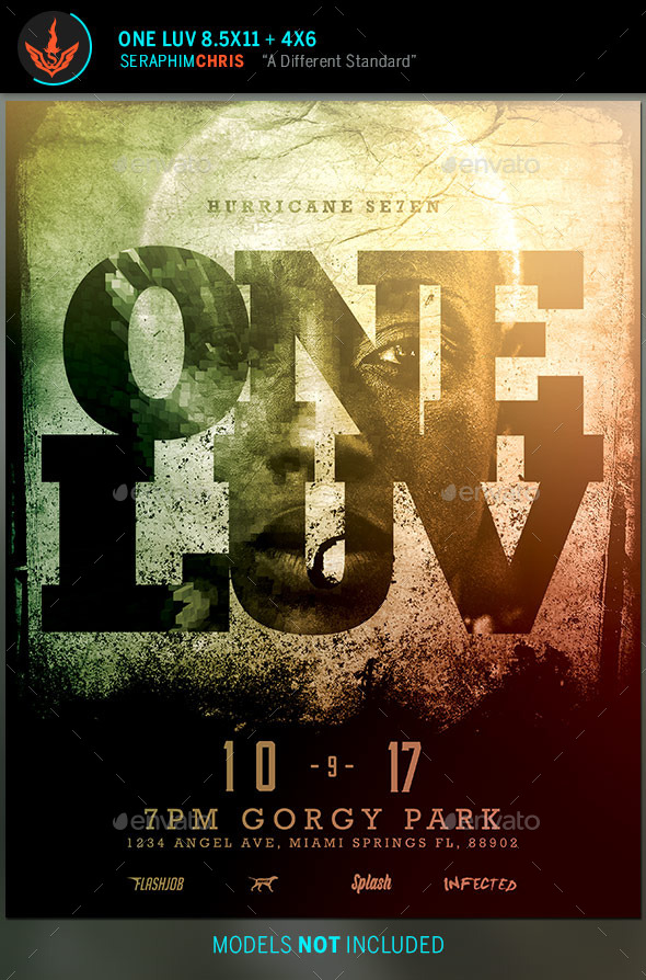 GraphicRiver One Love Flyer Template 9602922
