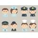 Professions Icons - GraphicRiver Item for Sale