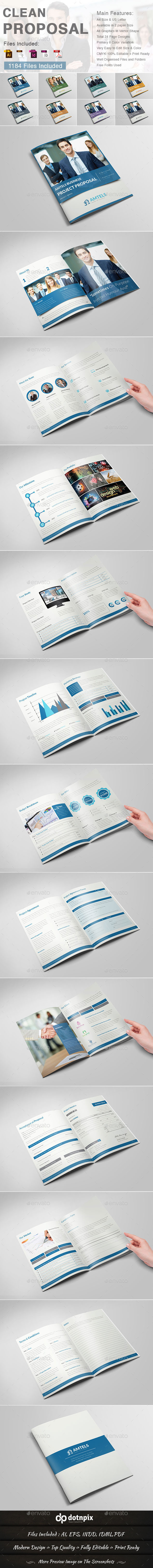 GraphicRiver Clean Proposal 9603153