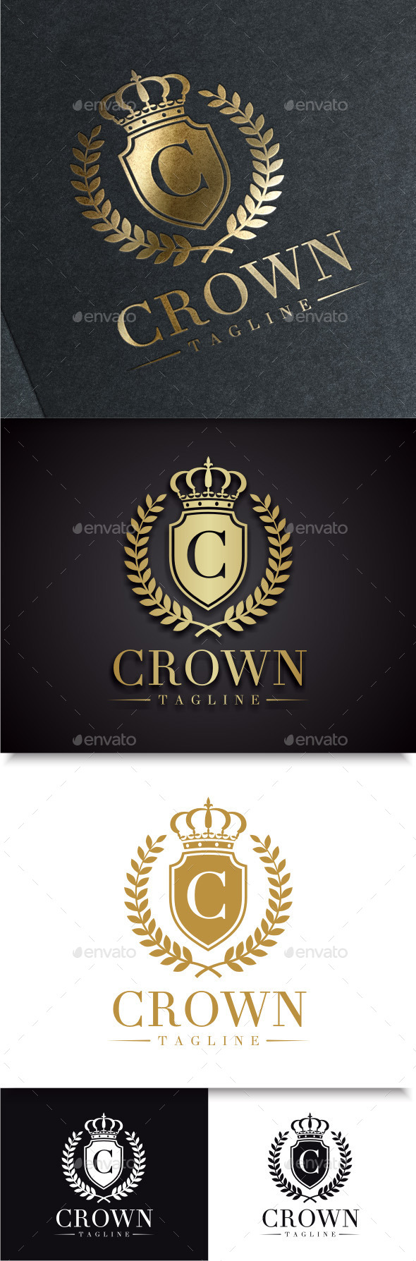 GraphicRiver Crown Logo 9603174
