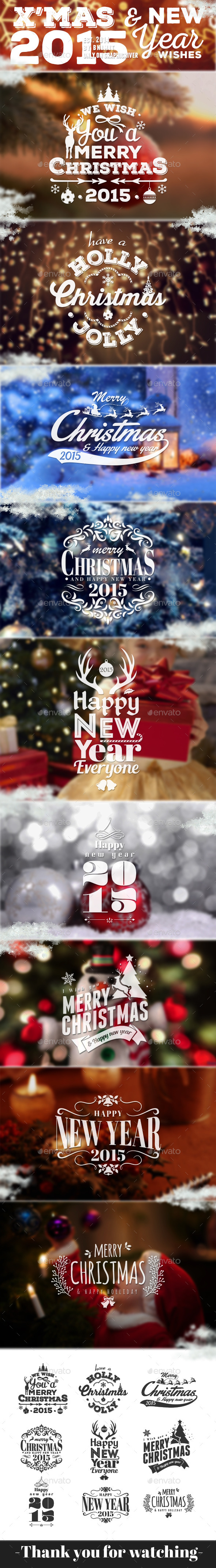 GraphicRiver Xmas & New Year Wishes 2 9603212