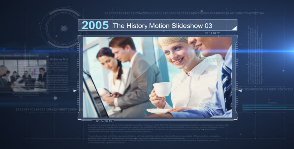 The History Motion Slideshow