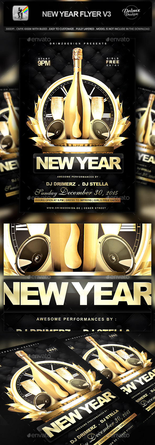 New Year Flyer V3