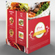 Colorful Food Menu Template - GraphicRiver Item for Sale