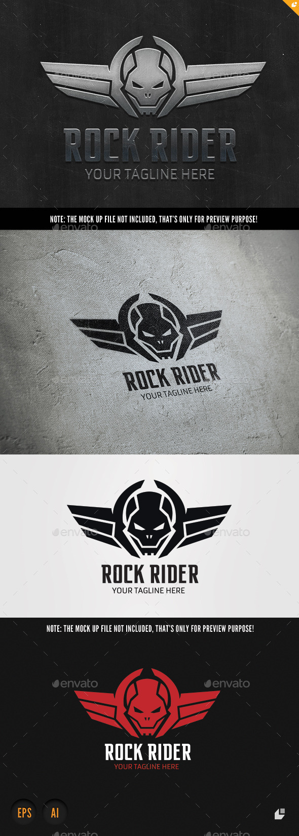 GraphicRiver Rock Rider 9603733