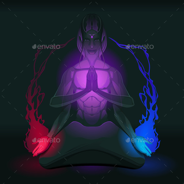 GraphicRiver Meditation on Union of the Opposite Inside 9603810