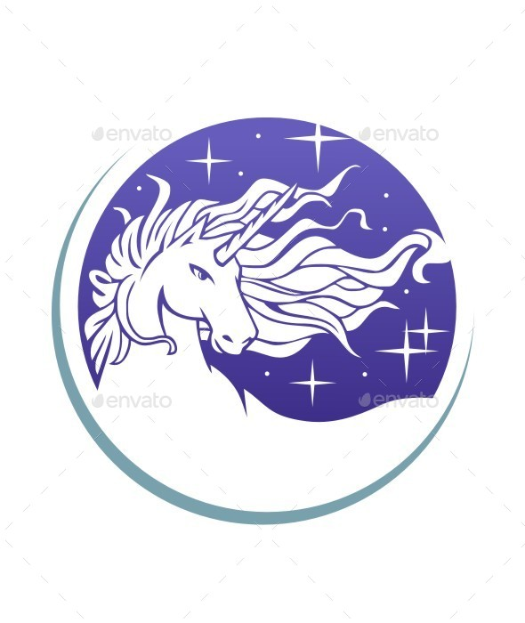 GraphicRiver Head Unicorn 9603954