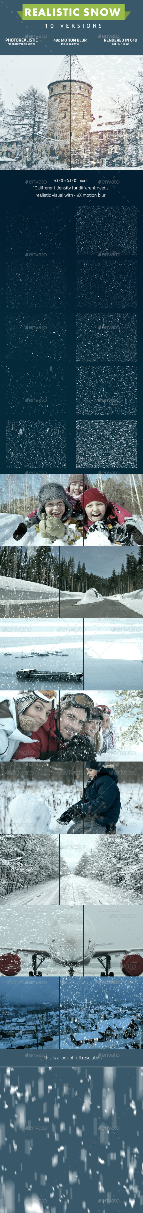 GraphicRiver Snow 9604090