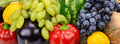 bright background of fruits and vegetables - PhotoDune Item for Sale