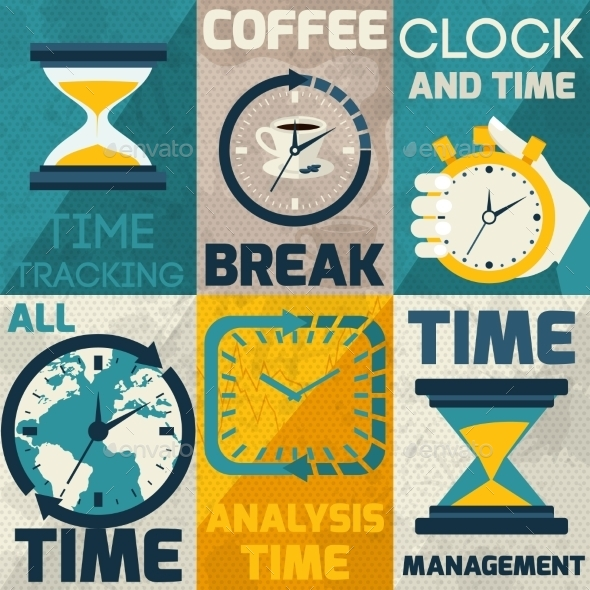GraphicRiver Time Management Poster 9604287