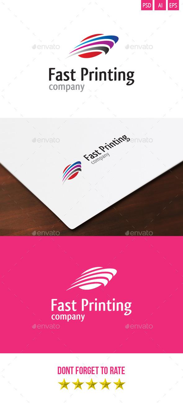 Fast Printing Logo - Symbols Logo Templates