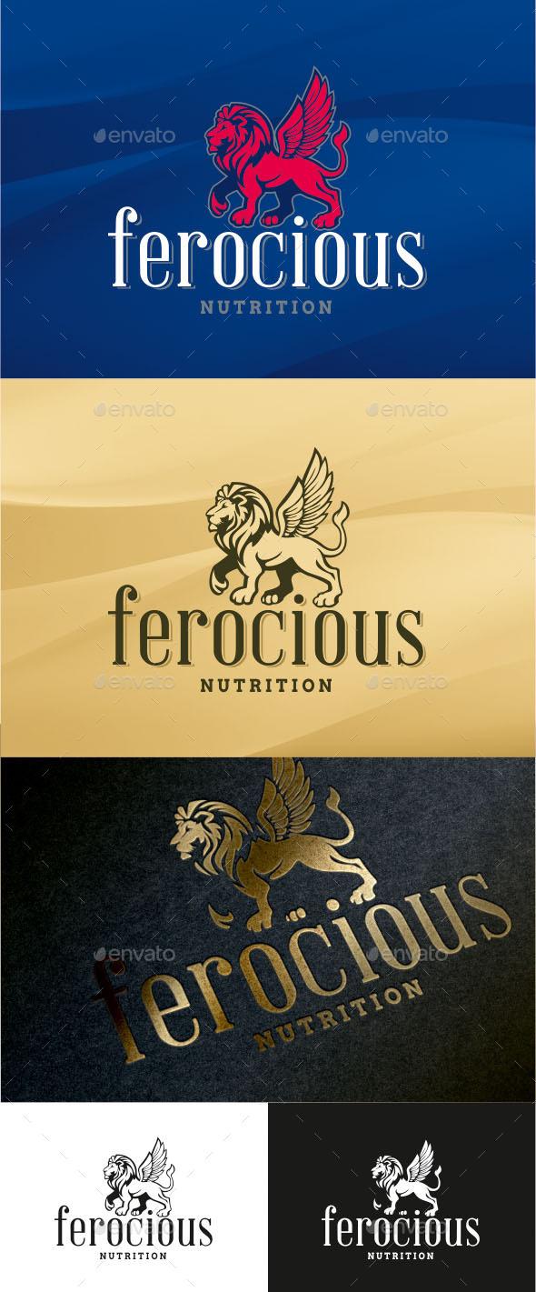 GraphicRiver Ferocious Logo 9605327