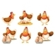 Six Hens - GraphicRiver Item for Sale