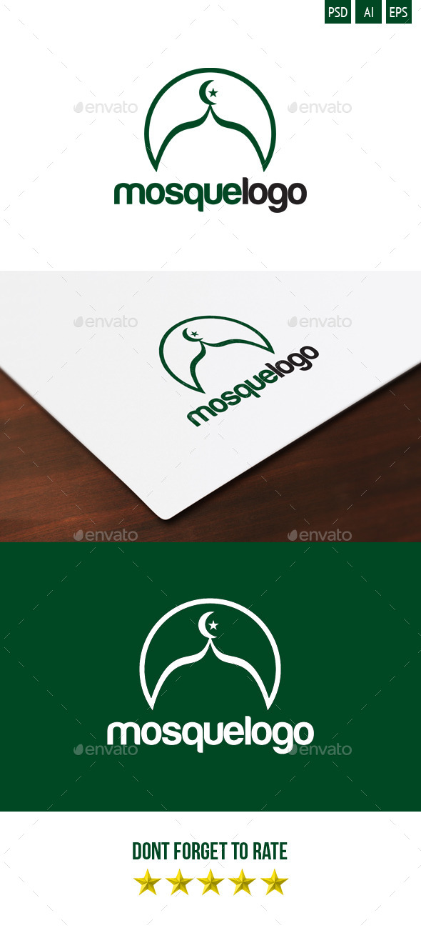 Mosque logo - Symbols Logo Templates