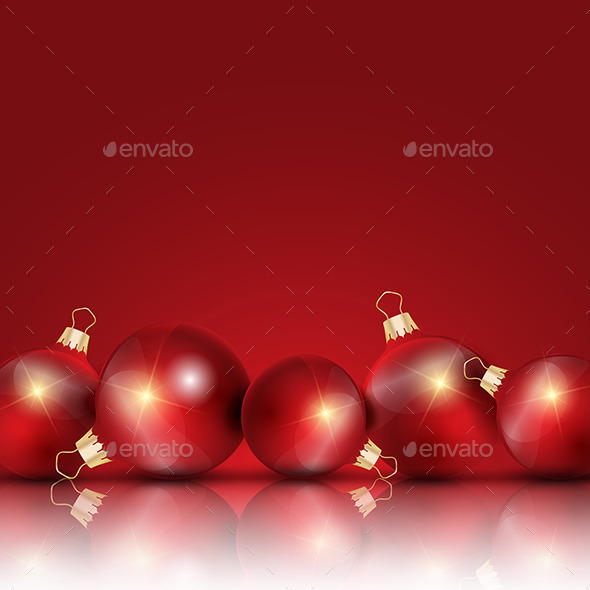 GraphicRiver Christmas Background 9605599
