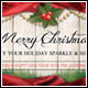 Christmas Greeting Sale FB Timeline Cover - GraphicRiver Item for Sale