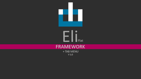 CodeCanyon Eli Flat Tab Menu Framework 9605857