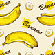 Seamless Pattern with Bananas - GraphicRiver Item for Sale