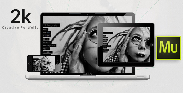 ThemeForest 2k One-Page Photography Portfolio Template 9463821