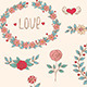 Romantic Doodle Elements - GraphicRiver Item for Sale