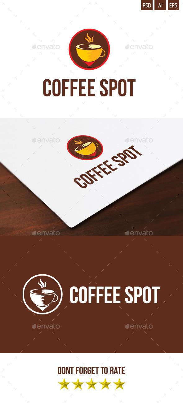 Coffee Spot Logo - Food Logo Templates