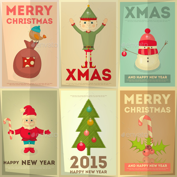 GraphicRiver Merry Christmas Greeting Card 9606180