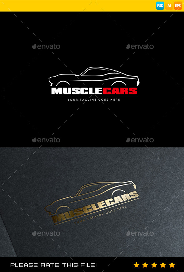 GraphicRiver Car Logo 9606225