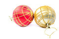 Christmas balls isolated on a white background. - PhotoDune Item for Sale