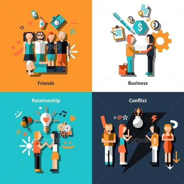 GraphicRiver People Social Relationship 9606251