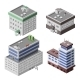 Office Buildings Isometric - GraphicRiver Item for Sale