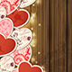 Background with Hearts for Valentine's Day - GraphicRiver Item for Sale