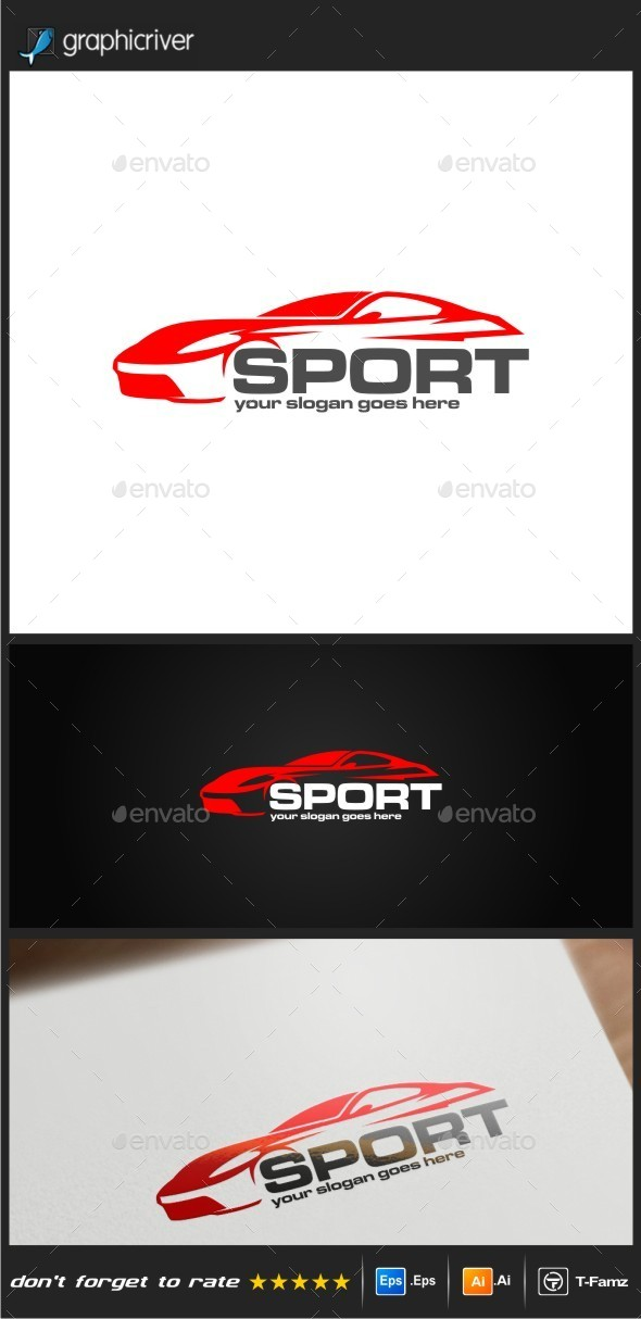 GraphicRiver Car Sport Logo Templates 9606764