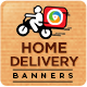 Courier Service Banner Set - GraphicRiver Item for Sale