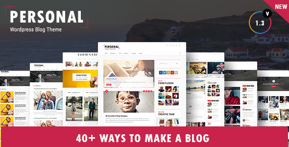 Personal Best Blog CV and Video WordPress Theme